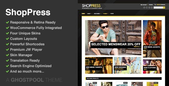 ShopPress – Responsive WooCommerce Theme 2.9.1