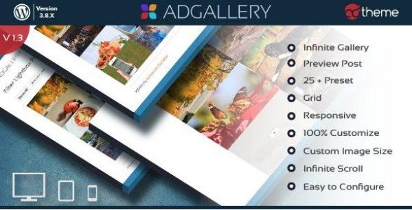 AD Gallery Premium WordPress Plugin 1.4