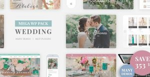Wedding Industry – Wedding Multipurpose Couple WP 3.0