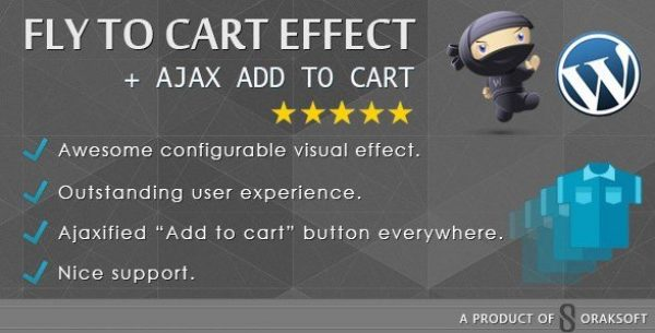 WooCommerce Fly to Cart Effect + Ajax add to cart 1.2.0