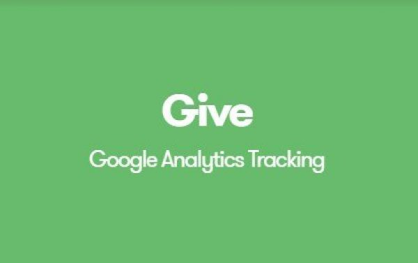 Give Google Analytics Donation Tracking 1.1.2