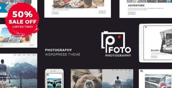 Foto – Photography WordPress Themes for Photographers 1.5