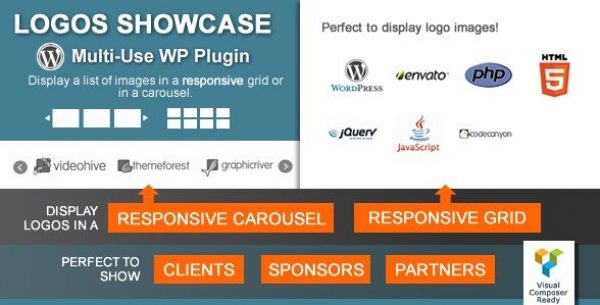 Logos Showcase – Multi-Use Responsive WP Plugin 2.0.2