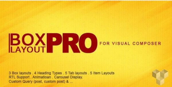 Pro Box Layout for Visual Composer 2.1