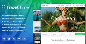 Travel Time – Tour Hotel & Vacation Travel WordPress Theme 1.1.5