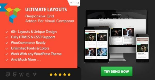 Ultimate Layouts Responsive Grid – Addon For Visual Composer 2.3.0