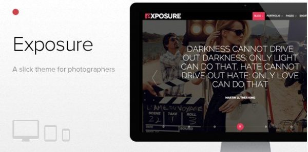 Exposure – Fullscreen Responsive Photography Theme 1.1.8