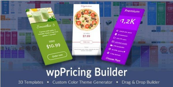 wpPricing Builder – WordPress Responsive Pricing Tables 1.5.3