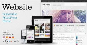 Website – Responsive WordPress Theme 6.0.1