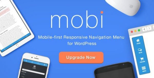 Mobi – Mobile First WordPress Responsive Navigation Menu Plugin 3.0