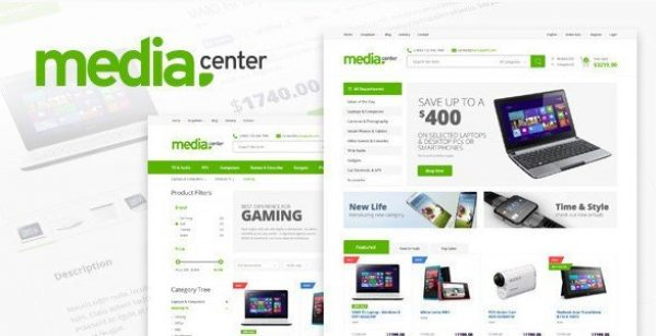 MediaCenter – Electronics Store WooCommerce Theme 2.7.7
