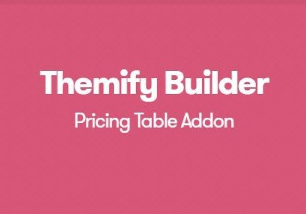 Themify Builder Pricing Table Addon 1.1.4