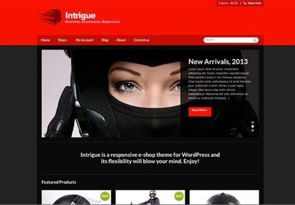 CSS Igniter Intrigue WordPress Theme 3.1