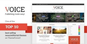 Voice – Clean News Magazine WordPress Theme 2.4.1