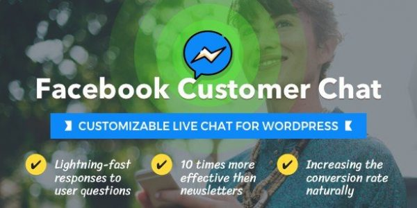 Facebook Customer Chat – Customizable Live Chat for WordPress 1.1.1