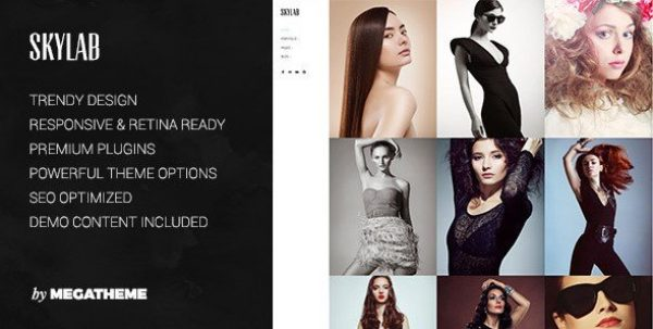 Skylab – Portfolio Photography WordPress Theme 3.0.2