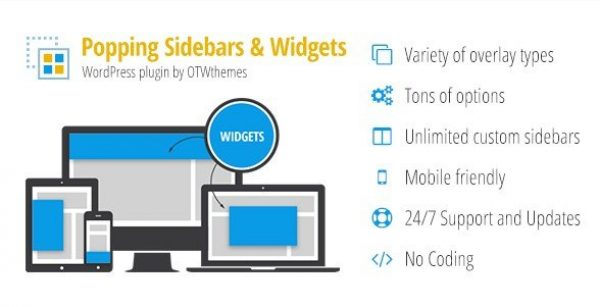 Popping Sidebars and Widgets for WordPress 2.15
