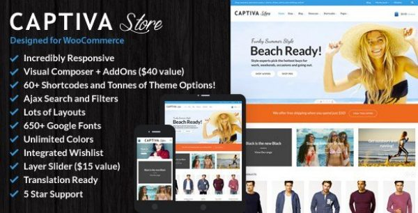 Captiva – Responsive WordPress WooCommerce Theme 1.9.7