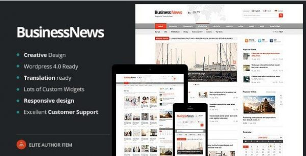 Business News – Responsive Magazine News Blog 1.5.0