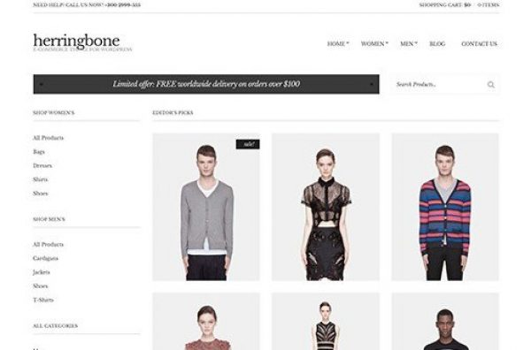 CSS Igniter Herringbone WordPress Theme 2.3