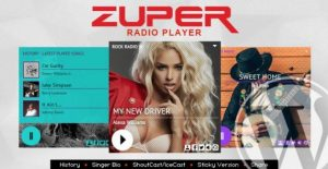 Zuper – Shoutcast and Icecast Radio Player 1.4.4