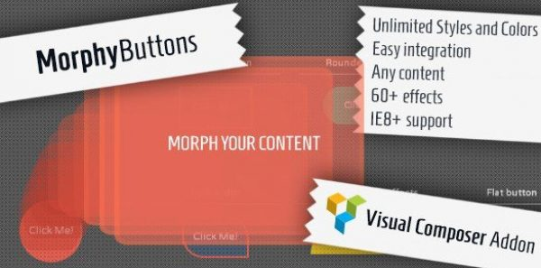 Morphy Buttons – Visual Composer Addon 1.4.0