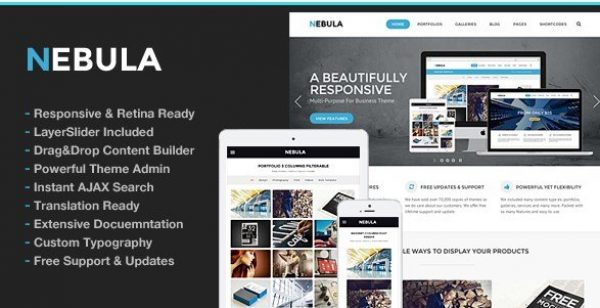 Nebula Responsive Multi-Purpose Theme 1.5.6