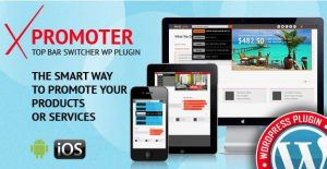 xPromoter – Top Bar Switcher Responsive WordPress Plugin 1.2