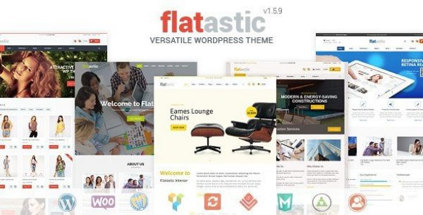 Flatastic – Versatile WordPress Theme 1.7.6