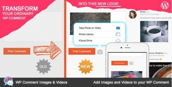 WP Comment Images and Videos 1.0