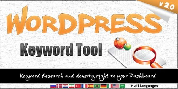 WordPress Keyword Tool Plugin 2.2.0