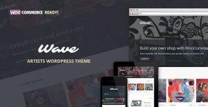 Wave – WordPress Theme For Artists 10.0.1