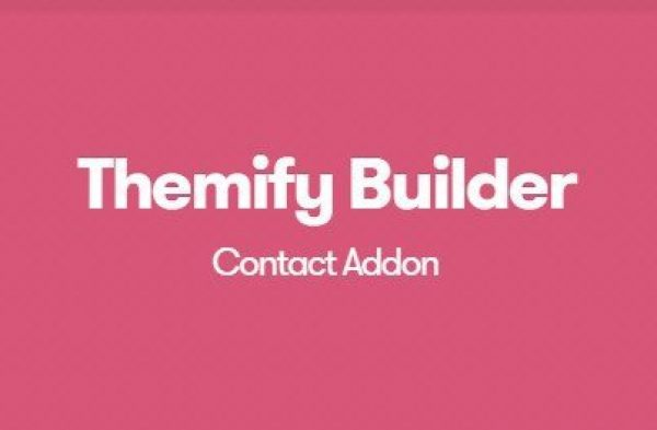 Themify Builder Contact Addon 1.3.1