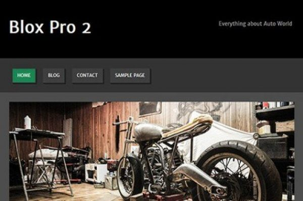 CyberChimps Blox Pro 2 WordPress Theme 1.1