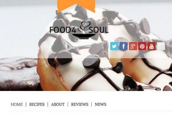 CyberChimps Food 4 Soul WordPress Theme 1.3