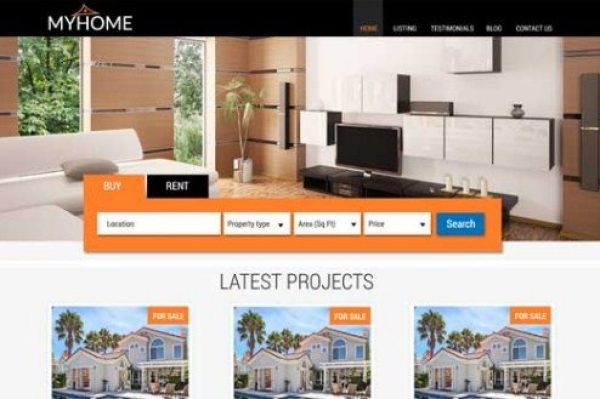 CyberChimps MyHome WordPress Theme 1.2