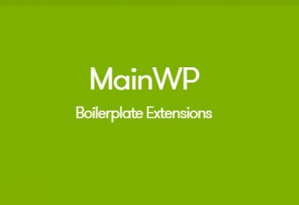 MainWP Boilerplate Extension 2.8