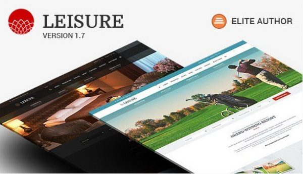 Hotel WordPress Theme – Hotel Leisure 2.1.6