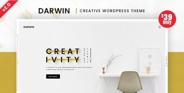 Darwin – Creative WordPress Theme 1.0.5