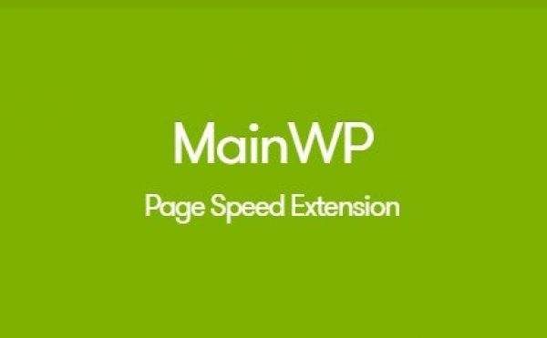 MainWP Page Speed Extension 1.2