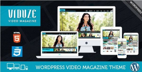 Viduze – Video WordPress Theme 1.9.0