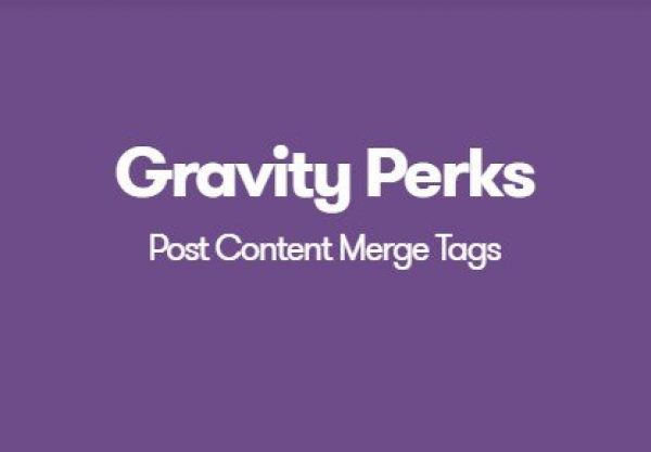 Gravity Perks Post Content Merge Tags 1.1.7