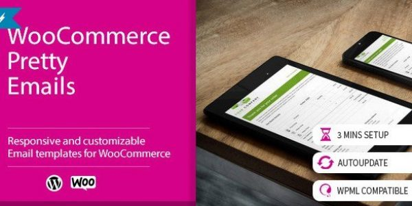 WooCommerce Pretty Emails 1.8.6
