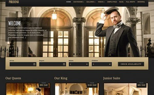 CSS Igniter Philoxenia WordPress Theme 2.5