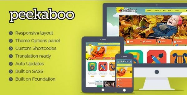 Pekaboo For WordPress – Children WordPress Theme 2.13.0