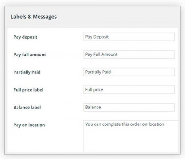 YITH WooCommerce Deposits and Down Payments Premium 1.2.1