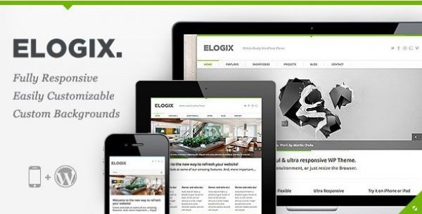 ELOGIX – Responsive Business WordPress Theme 3.3