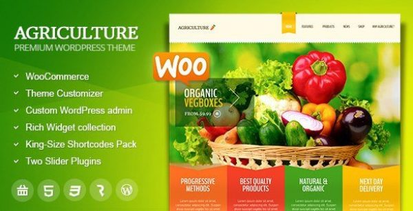 Agriculture – All-in-One WooCommerce WP Theme 1.6.4