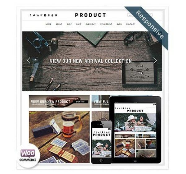 Dessign Product WooCommerce Themes 2.0.1