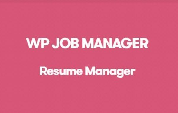 WP Job Manager Resume Manager Addon 1.17.0